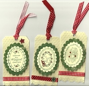 Just-rite Christmas tags