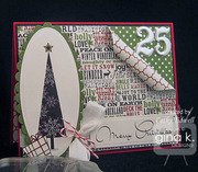 Stamp Duo Merry Tree
