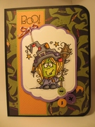 """Witchy """"Boo"""" card"""