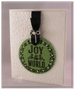 Poster Board Christmas - Joy to The World