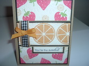 Sweetest with Embossing Folder