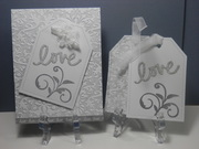 Bridal Shower card and gift tags