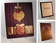 Recycled Ornament Card