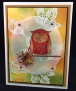 Owl on Vellum