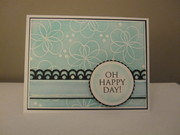 Oh Happy Day - Sponged Background