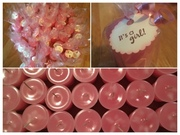 Girl Baby Shower tag