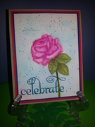 GKD celebrate with Watercolored Rose