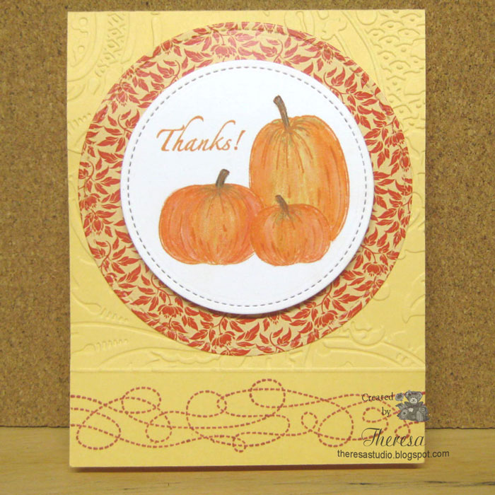 Pumpkins with Stitches