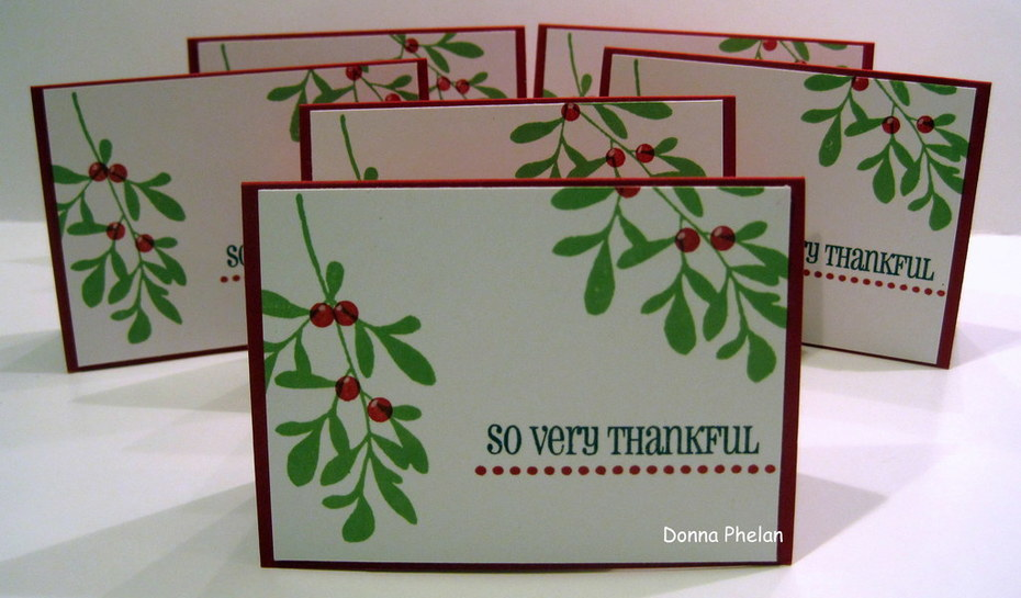 So Very Thankful, Note Card Set