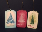 STV15MON50 - Christmas Trees Quick Tags