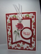 Red Rose Tag
