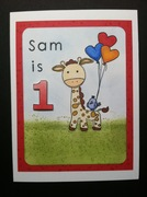 Happy Birthday to You - Sam is One