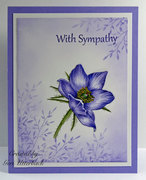 Sympathy Challenge Card