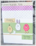 MSC Paper Pieced Easter Bunnies