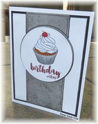 Paper Pieced with a Cupcake