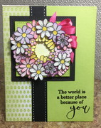 Wreath of kindness card