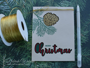 Pinecone Card
