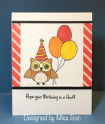 Hope your birthday is a hoot!
