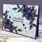 Whimiscal Wildflowers stamp and die bundle by Hannah Schroepfer2