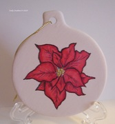 MMC102018 Poinsettia Ornament