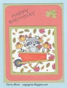 Racoon Birthday Wishes