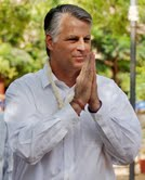US ambassador to India Timothy J Roemer's on one day visit of Ahmedabad-Gamdhi Ashram