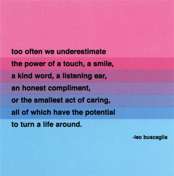 Too often we underestimate..