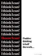 I think I  can....I know I can!