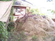 Inspiration Farm - the compost heap that heats water