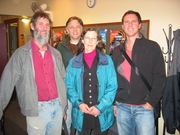 Brian, Jeff, Angela, and Tim Winton