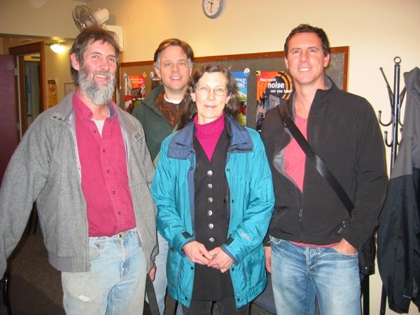 Brian, Jeff, Angela, and Tim Winton
