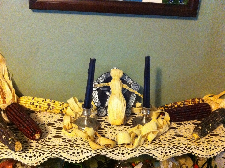 Begining of the Harvest Season Family Altar