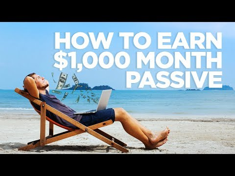 How to make $1,000 a Month Passive Income - Real Estate