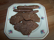 Biscuits choco-graines
