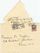Letter to Marshall Taylor Envelope