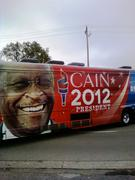 Cain Train Comes to Willow Run Tea Party