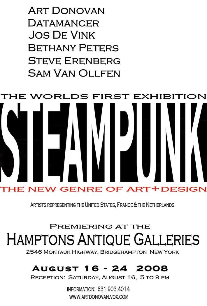 Exposition Steampunk 2008