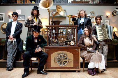 The Steamdrone and The Clockwork Quartet