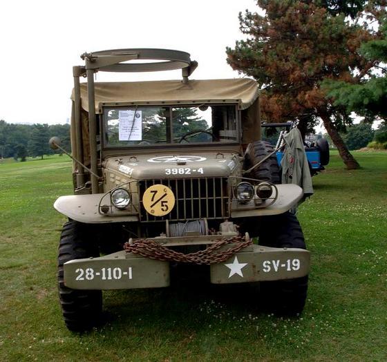 1943 Dodge T207 1-2 Ton WC-6