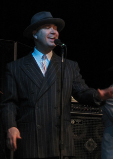 Scotty Morris of Big Bad Voodoo Daddy