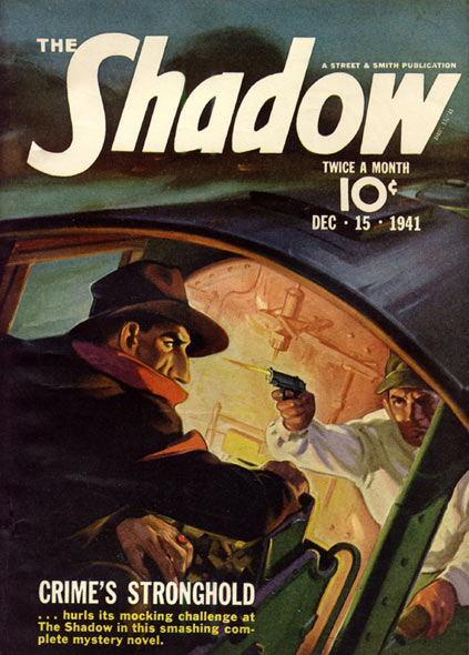 The Shadow comic