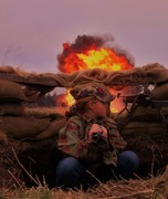 Teenage Girl Soldier Beats Enemy Platoon Attack!