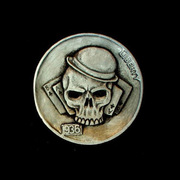 Hobo Skull Nickels