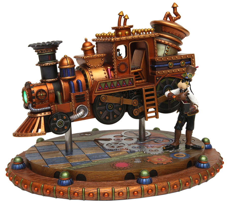 Goofy's Steam-Powered Frontierland Train by Costa Alavezos