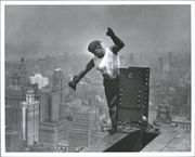 Empire State Building construction photos