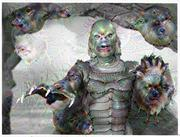 Deep Dream - Creature from the Black Lagoon