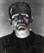 Deep Dream - Frankenstein