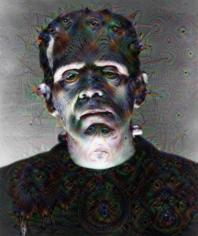 Deep Dream - Frankenstein