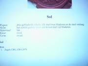 Wax seal discription Sol Familie