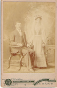 Wedding 1901 Patrick Cantwell and Catherine Ellen Larney